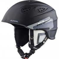 Helmet ALPINA GRAB 2.0 black/grey matt
