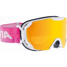 Goggles ALPINA PHEOS S MM white/pink
