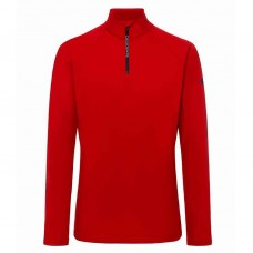 Men's T-neck shirt HANS DESCENTE red