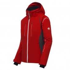 Men's Jacket Descente Isak electric red