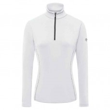 WOMEN'S T-NECK SHIRT DESCENTE Jamee white