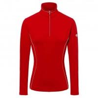WOMEN'S T-NECK SHIRT DESCENTE Jamee red