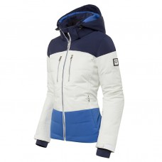 Ladi's ski jacket Descente Sienna Ocean blue super white