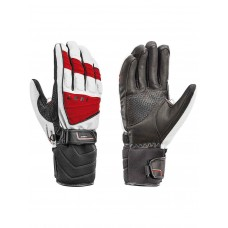 GLOVES LEKI GRIFFIN S white/red/blk