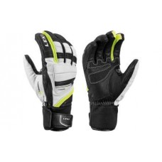GLOVES LEKI GRIFFIN PRIME S white/blk/yellow
