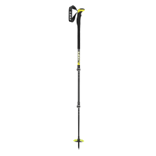 LEKI Ski Poles Aergon 3 darkanthracite/neonyellow/white SL2
