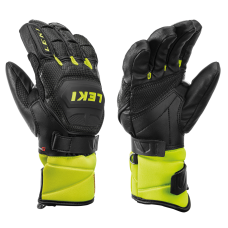 Children's Gloves  LEKI Worldcup Race Flex S blk//ice lemon