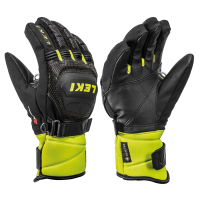 Children's Gloves  LEKI Worldcup Race Coach Flex S GTX blk/ice lemon