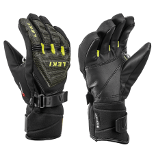 Children's  Gloves LEKI WC RACE COACH C-TECH S  blk/ice lemon
