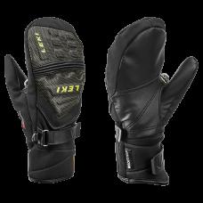 Children's  Gloves LEKI  RACE COACH C-TECH S Mitt  blk/ice lemon