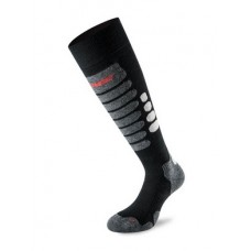 Socks for  skiing 3.0 black/grey LENZ