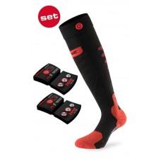 Нагряващ чорап LENZ 5.0 Toe Cap + с литиеви батерии rcB 1200
