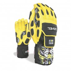 Gloves LEVEL Worldcup  CF yellow
