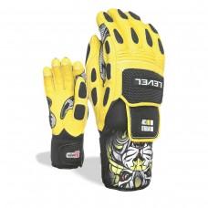 Kids gloves LEVEL Worldcup JR CF yellow