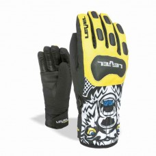 Glove LEVEL Race JR blk/yell