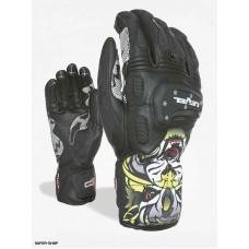 Gloves Level SQ CF PK  black