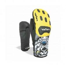 Gloves LEVEL Race Jr miit yellow