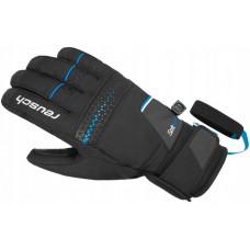 Gloves REUSCH X-RAIL R-TEXT XT black/brilliant blue