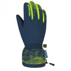 Gloves REUSCH XAVER  R-TEX XT JUNIOR dress blu/neon yellow