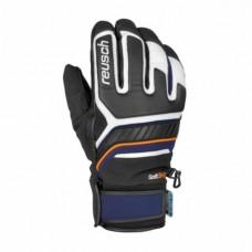 Gloves REUSCH THUNDER  R-Tex XT wht/dress blu/org posicle