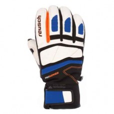Gloves ALEXIS PINTURAULT GTX dazzling blue/orange popsicle