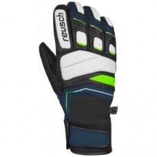 Gloves REUSCH PROFI SL dress blue/neon green