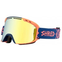 Goggles SHRED SMARTEFY BIGSNOW NAVY/RUST