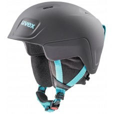 Helmet UVEX MANIC pro black-petrol mat