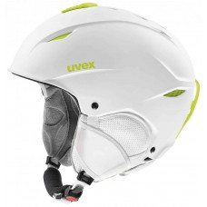 Helmet UVEX PRIMO white-lime mat