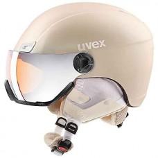 Helmet UVEX 400 visor style prosecco mat