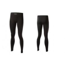 Дамско черно  термо бельо панталон 1.0 LENZ