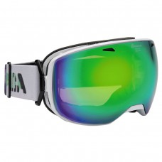 Goggles АLPINA BIG HORN white MM green sph