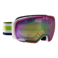 Goggles АLPINA GRANBY white Qvmm green sph