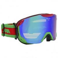 Goggles ALPINA PHEOS S ММ red-green