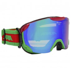 Ski googles ALPINA PHEOS S ММ red-green