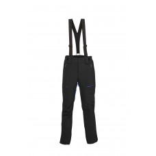 Mъжки ски панталон Descente черно със синьо