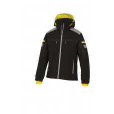 Men's Ski Jacket  Descente black/yellow