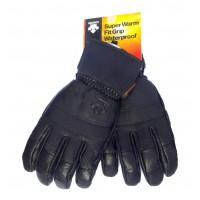 Mъжки ски кожени ръкавици DESCENTE D7-0256(93)