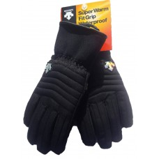 Ladie's ski gloves Descente black D7-0259W(93)