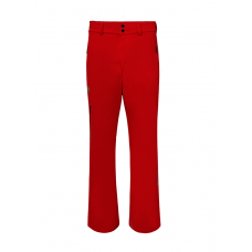 Men's ski pants Roscoe red