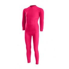 Детско Термо бельо -комплект розово  Lenz