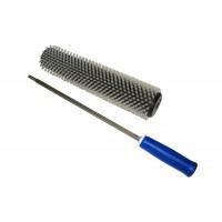 Комплект Роторна  четка найлонов косъм с дръжка за сноуборд 300 mm LG