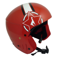 Helmets VOLA Fis W red
