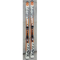 Ski second hand Volkl RTM 7.4 orange with bindings