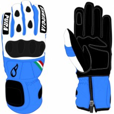 Gloves  Energiapura SL Bicolor Blue/white